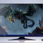 Alienware Has The World's First 55-inch OLED Gaming Monitor Because, Why Not?