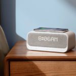 Cut Bedside Table Clutter With This Wireless Charging Pad/Alarm Clock/Speaker