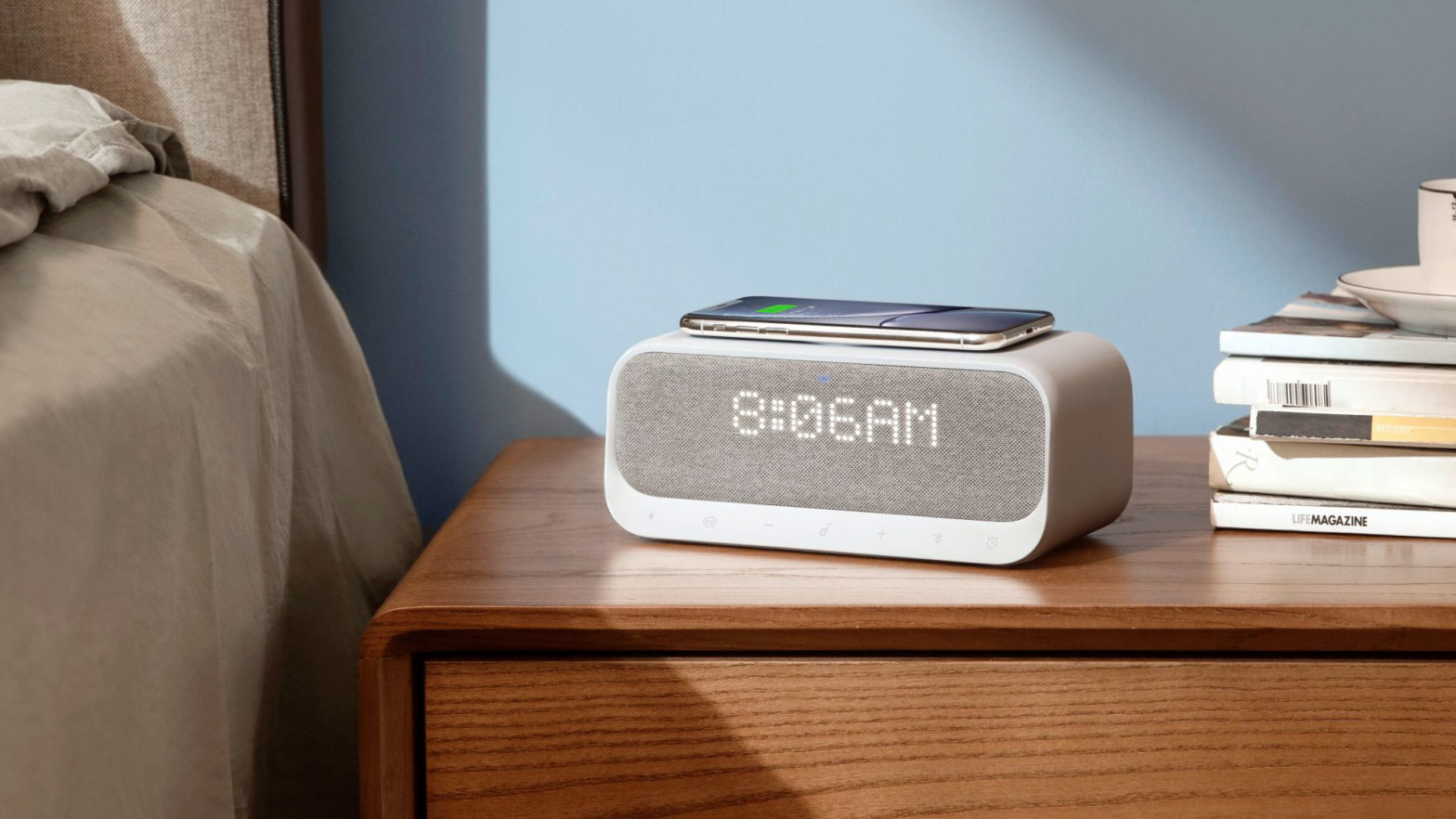Anker Wakey Wireless Charging Pad Alarm Clock