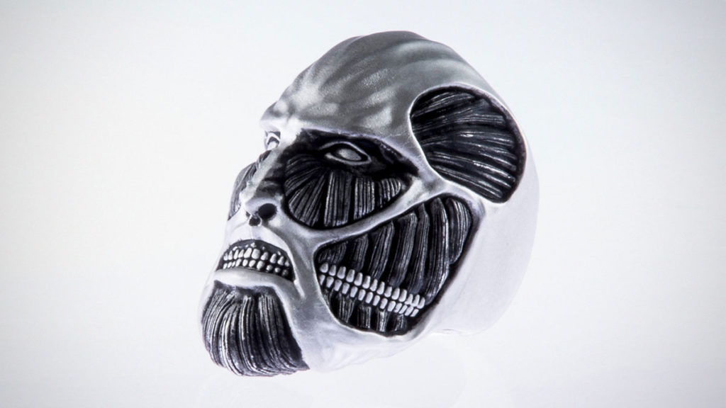 Attack on Titan Ring by Shoya Taniguchi