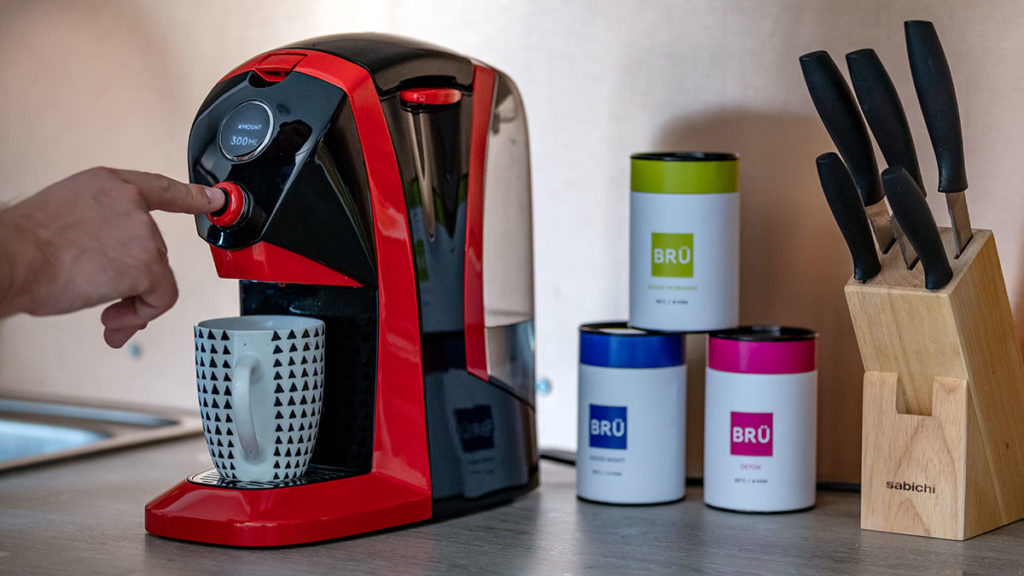 BRU Automated Tea Machine