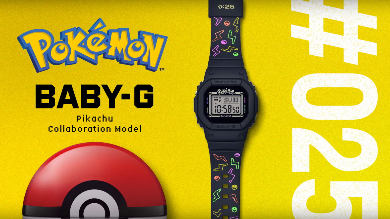Baby-G x Pokemon BGD560PKC-1 Watch