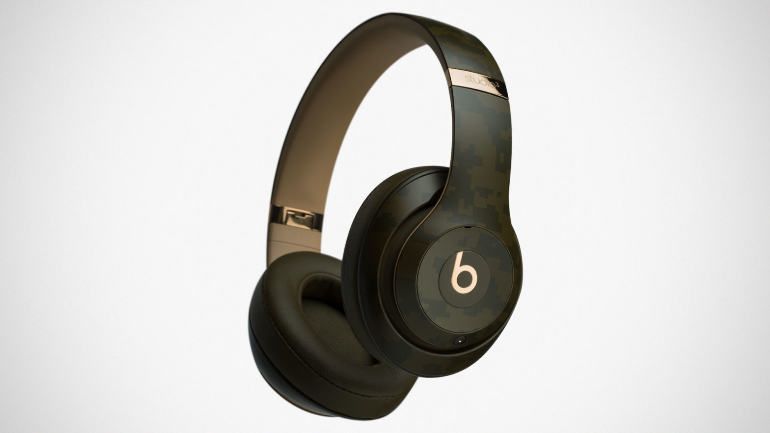 Beats Studio3 Wireless Headphones Camo