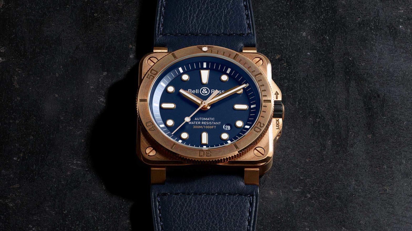 Bell & Ross BR03-92 Diver Bronze Navy Blue