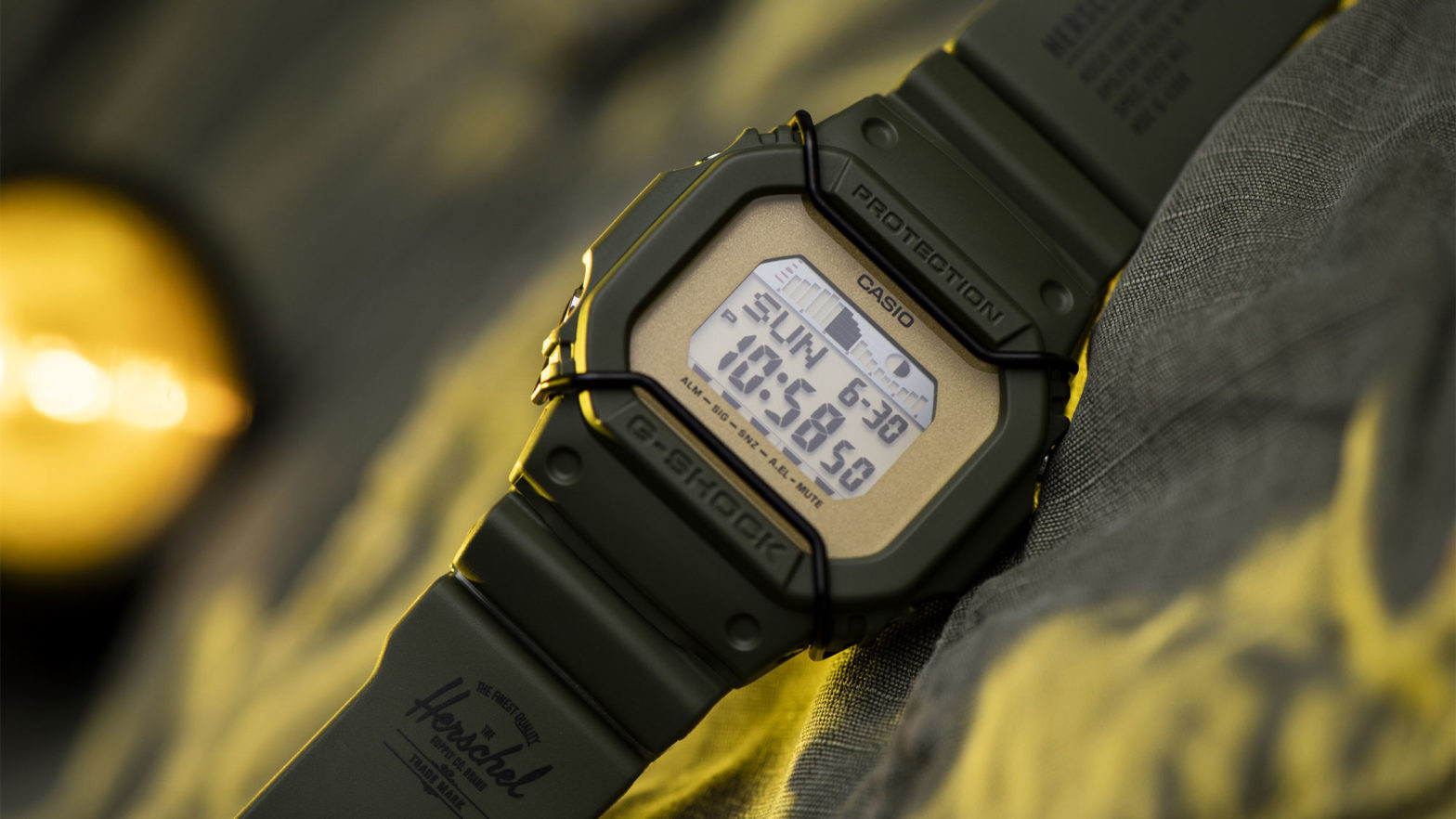 CASIO G-Shock x Herschel G-Lide Watch