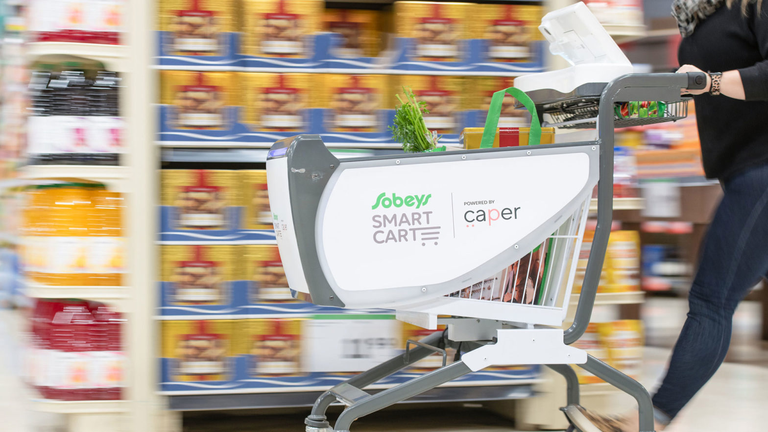 Caper Smart Shopping Cart
