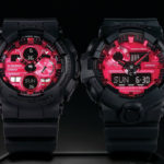 Casio G-Shock Adrenalin Red Series: Matte Black Plus Red Equals Super Cool