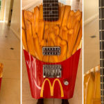 Super Rare French Fry Guitar Up For Grab, Burger And Drink Not Included