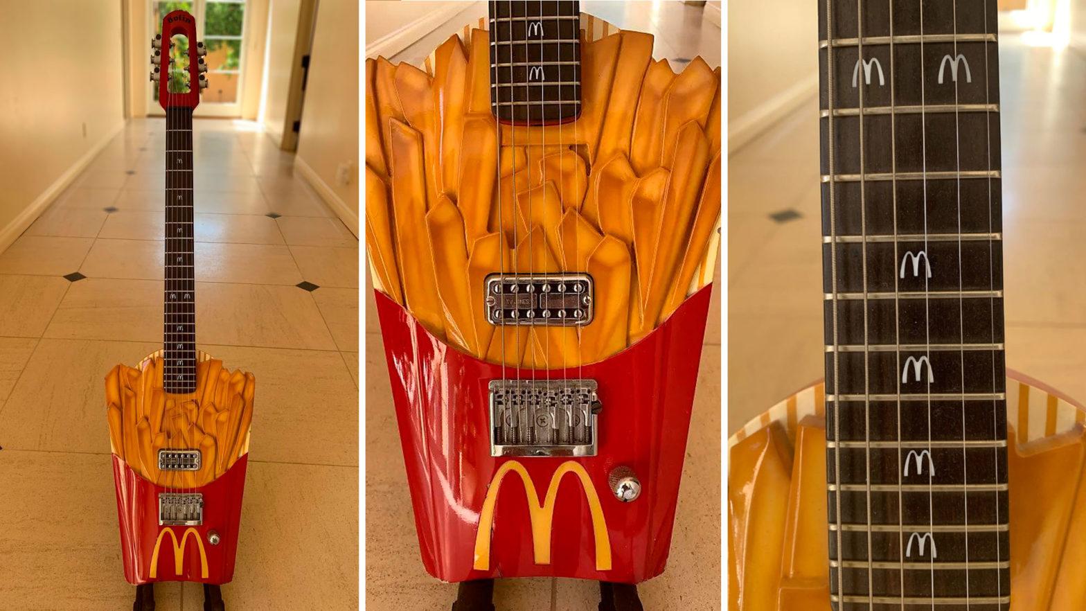 Custom French Fry Electric Guitar