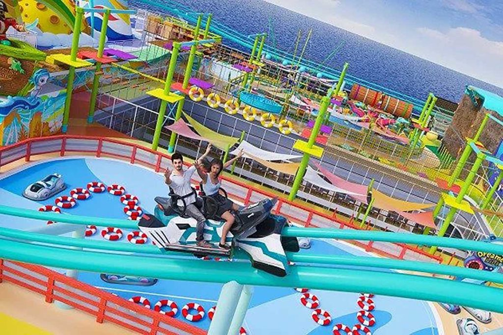 Dream Cruises Longest Roller Coaster at Sea
