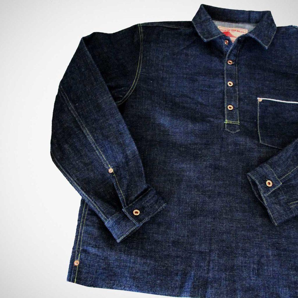 FOB Factory G3 Selvedge Denim Pullover