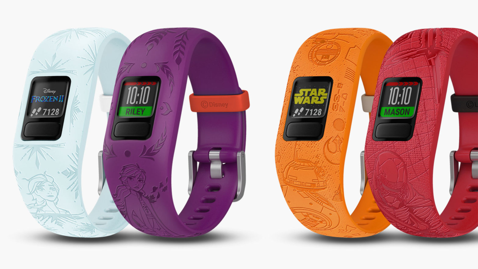 Garmin Frozen 2 and Star Wars Fitness Trackers