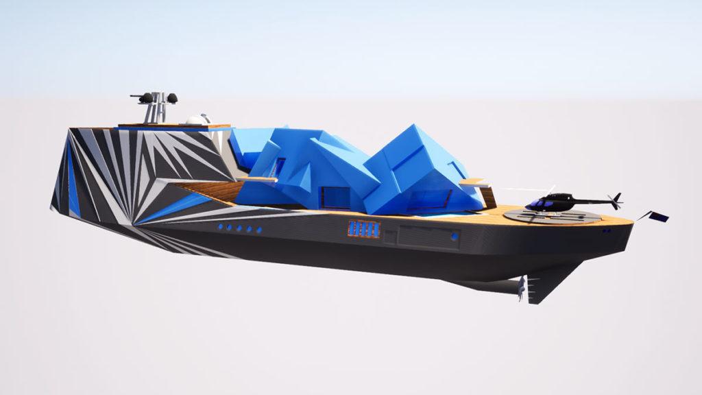 George Lucian Fata Morgana Superyacht