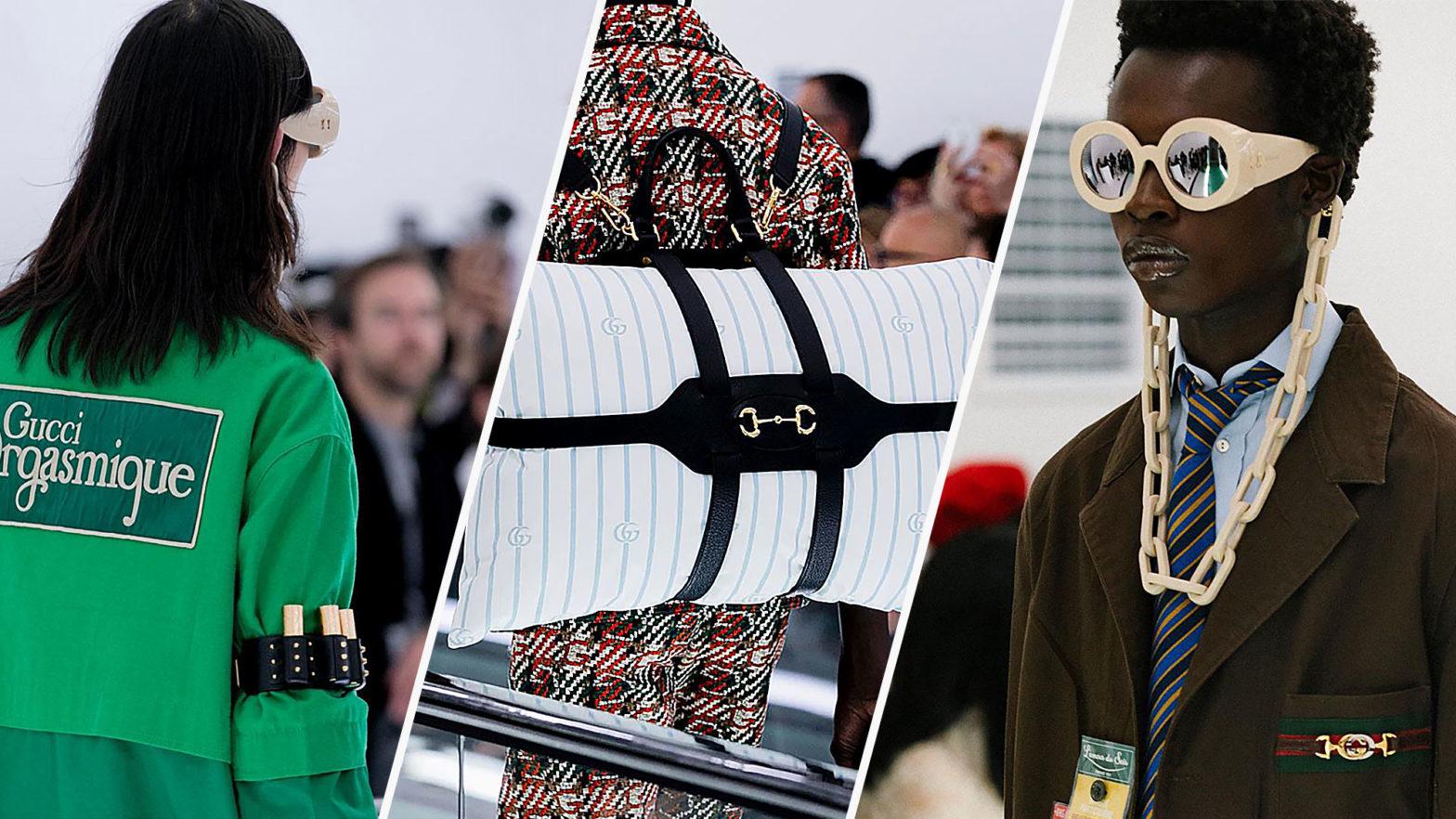 Gucci Weird Fashion Pieces SS20