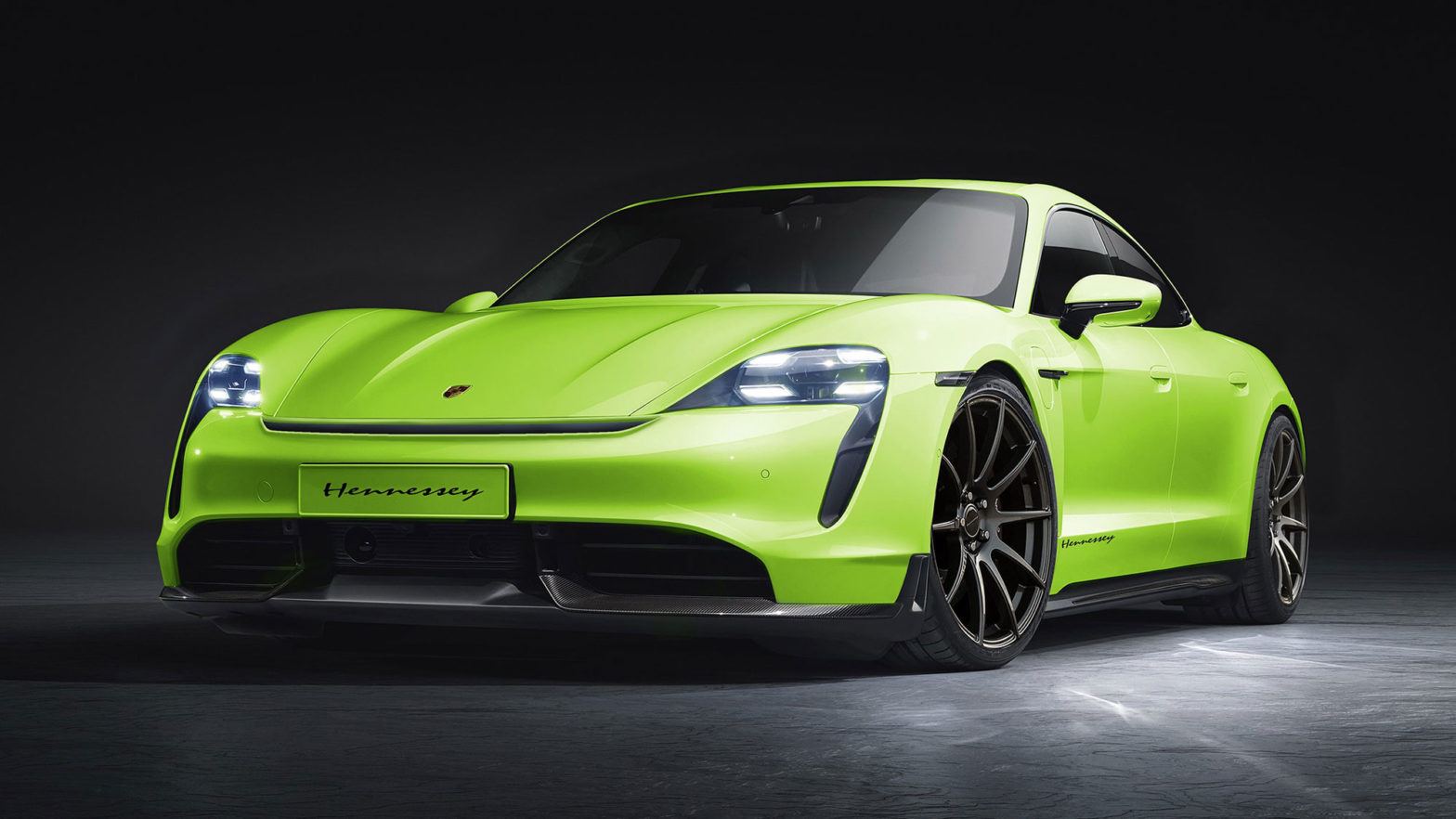 Hennessey Porsche Taycan Electric Vehicle