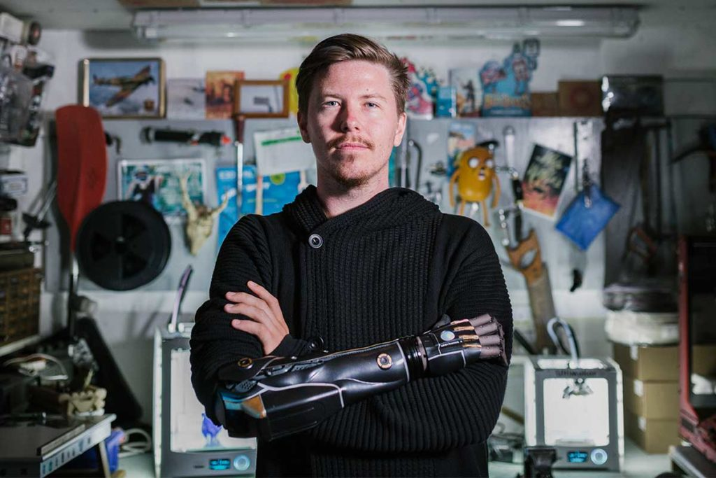 Hero Arm 3D-printed Bionic Arm