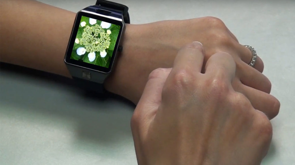 INNOVENTIONS Virtual Touchpad For Smartwatches