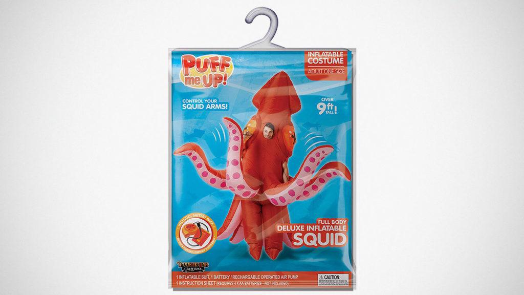 Inflatable Giant Squid Costume