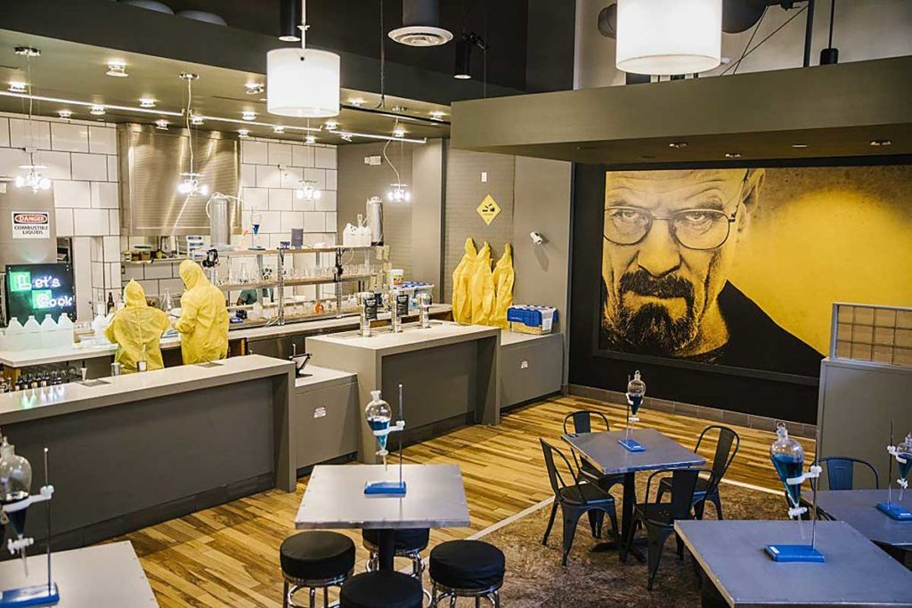 Interactive Breaking Bad Pop-up in L.A.