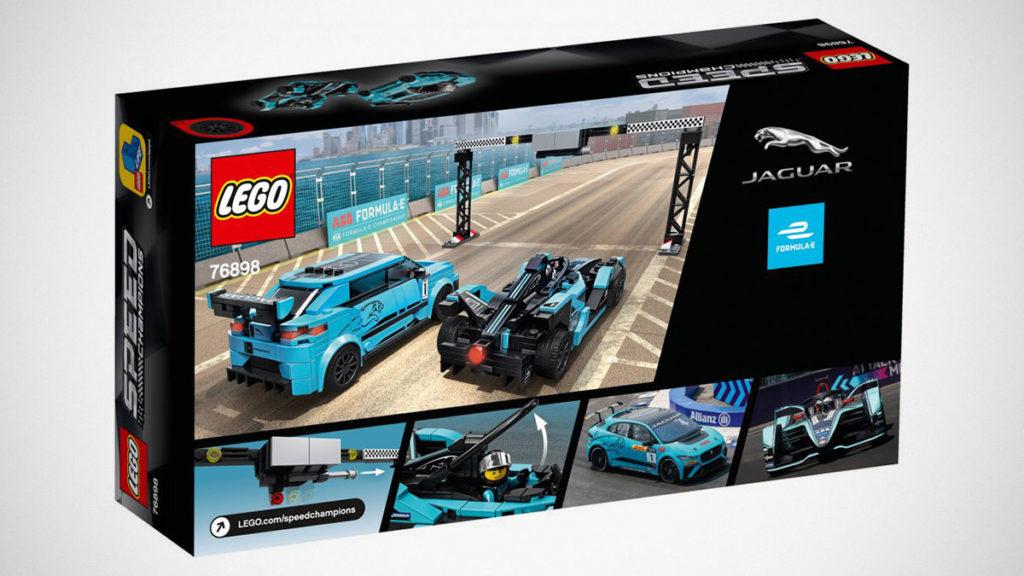 LEGO 75898 Jaguar Formula E and I-PACE