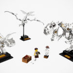 LEGO Ideas Dinosaur Fossils Packs Three Dinosaurs, Shovel Not Required