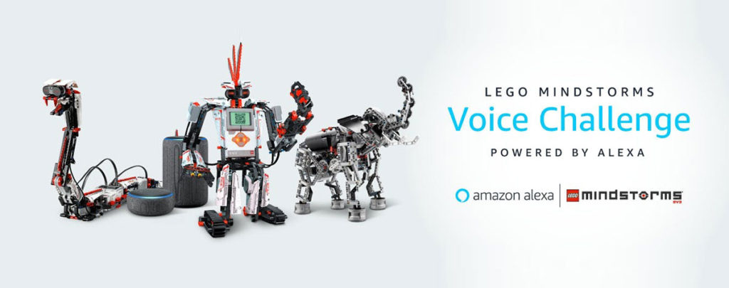 LEGO Mindstorms Powered by Alexa