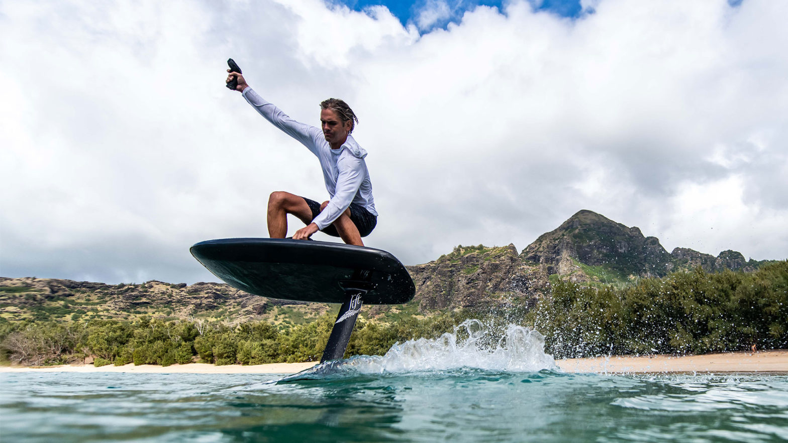 Lift Foils Electric Hydrofoil Surfboard