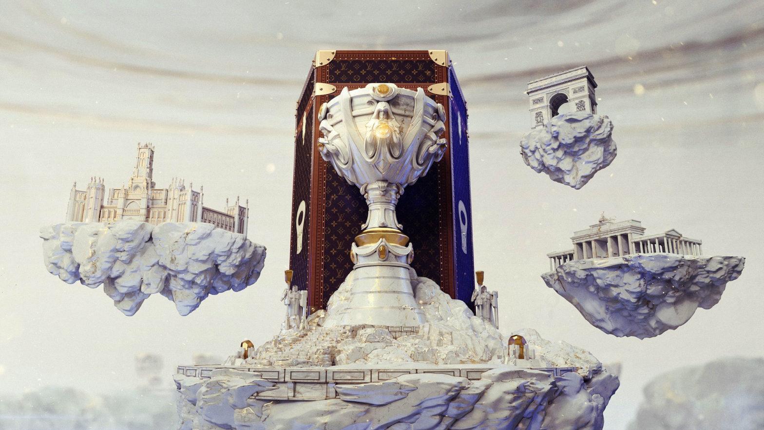 Louis Vuitton League of Legends Trophy Travel Case