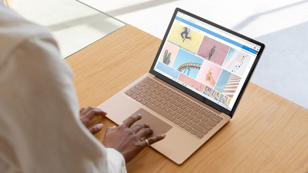 The Microsoft Surface Laptop 3