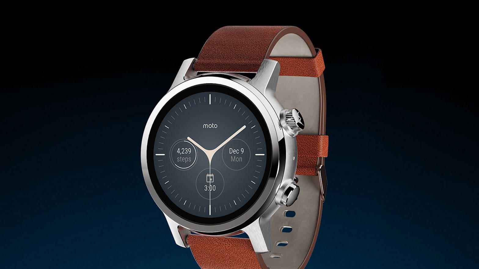 Moto360 Third-Generation Smartwatch
