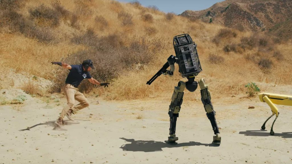 New Robot Makes Soldiers Obsolete
