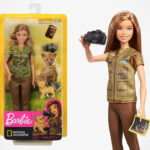 The World's Famous Doll, Barbie, Has A New Career As A NatGeo Photojournalist