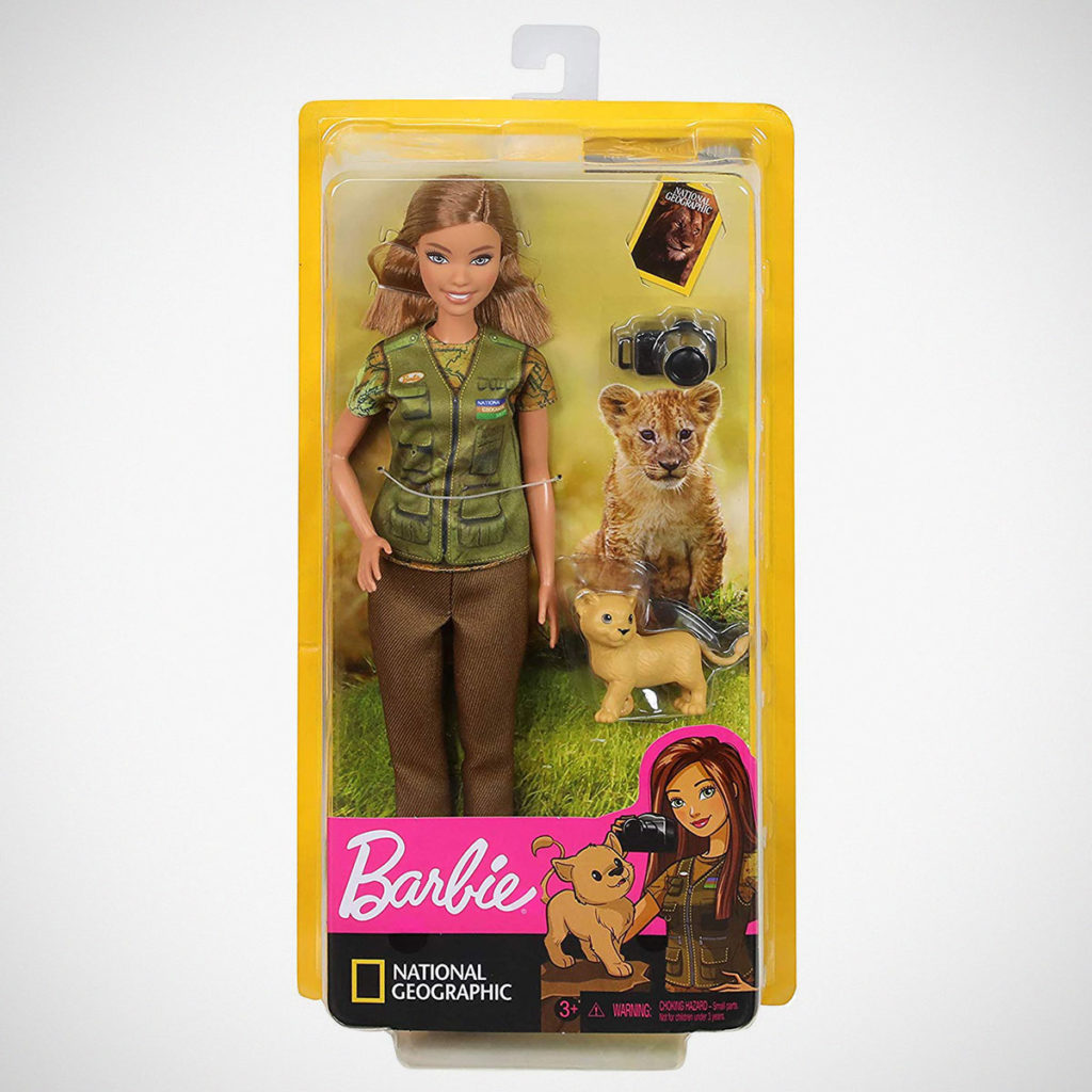 Photojournalist Barbie Doll by Mattel