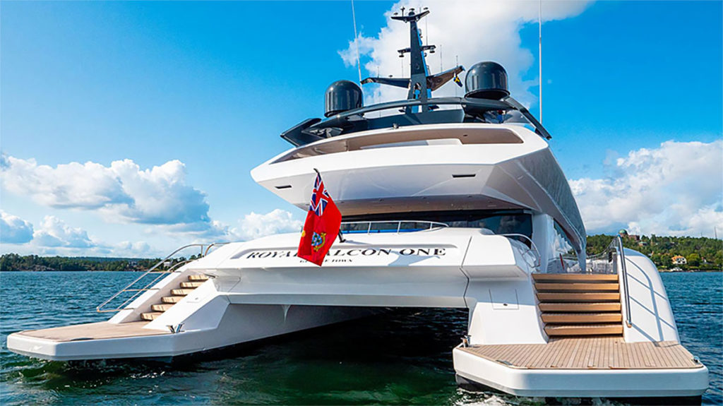 Porsche-designed Catamaran Yacht