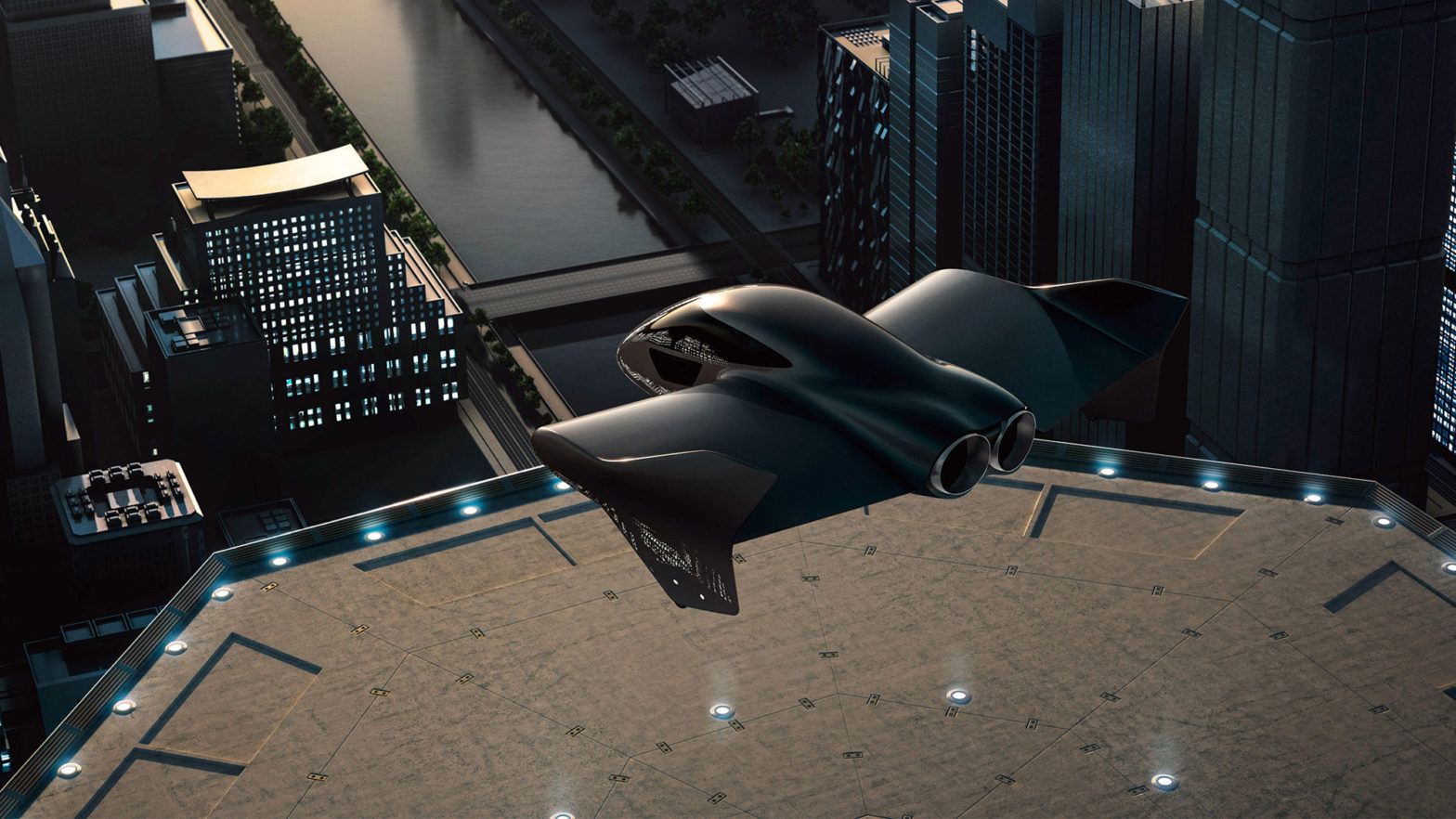 Porsche x Boeing Urban Air Mobility Vehicle