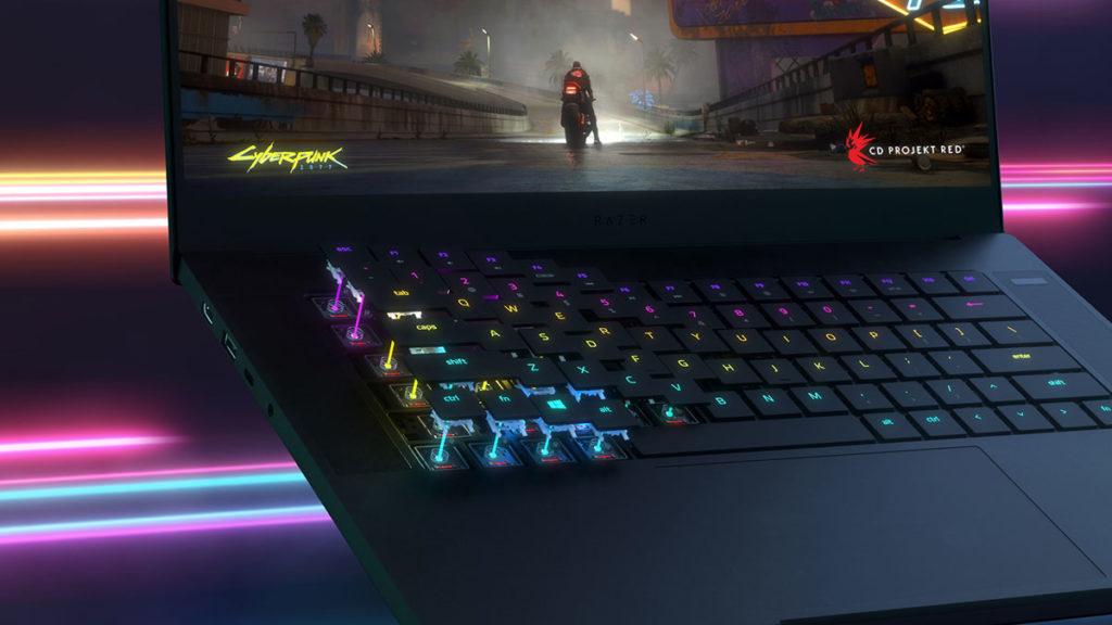 Razer Blade 15 with Optical Keyboard