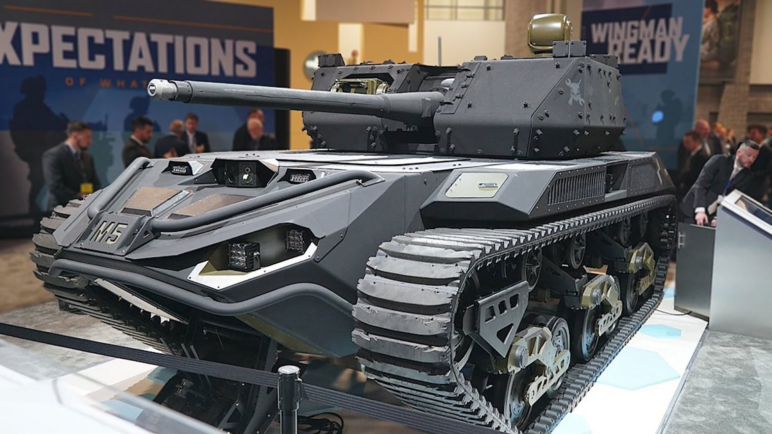 Ripsaw M5 Unmanned Mini-tank Unveiled