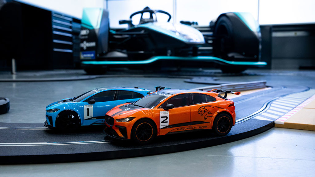 Scalextric Jaguar Race Cars