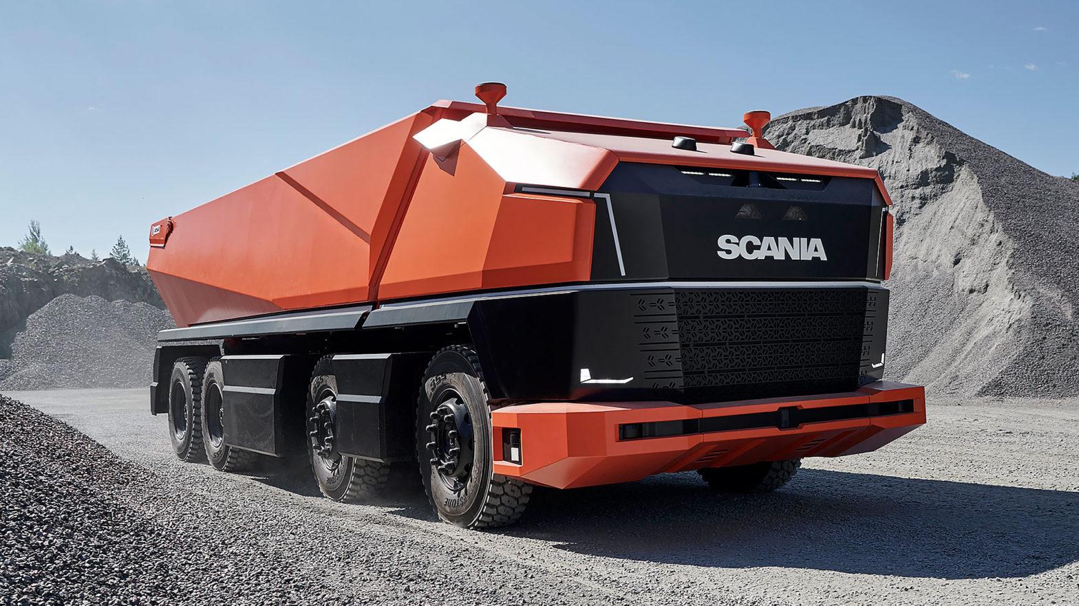 Scania AXL Autonomous Truck Concept