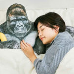Realistic Gorilla With Stretch Arm Pillow Will Cosy You To Sleep. Maybe?