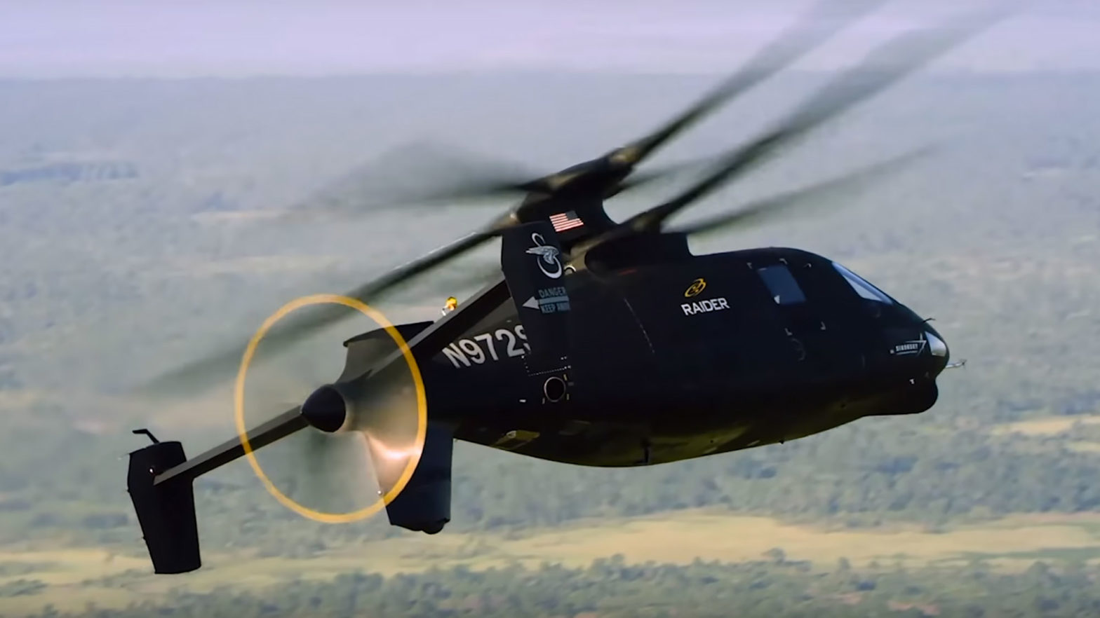 Sikorsky RAIDER X Coaxial Helicopter