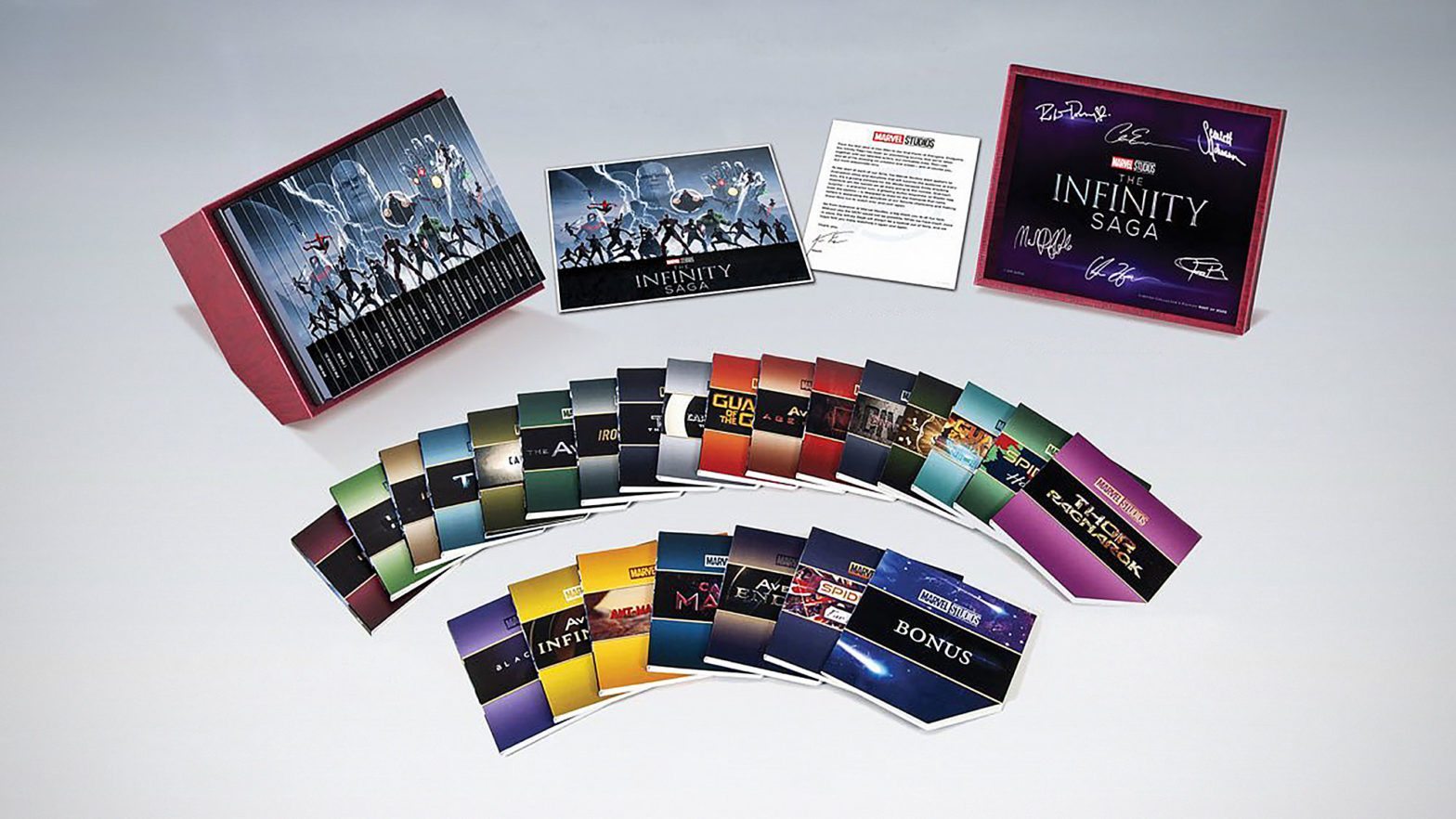 The Infinity Saga Collector's Edition Blu-ray