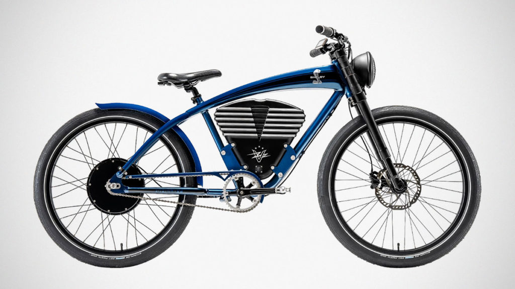 Vintage Electric Shelby Electric Bicycle