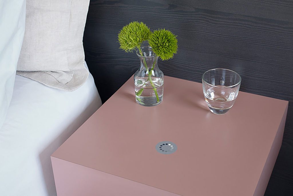 Wireless Charging Formica Laminate Surface