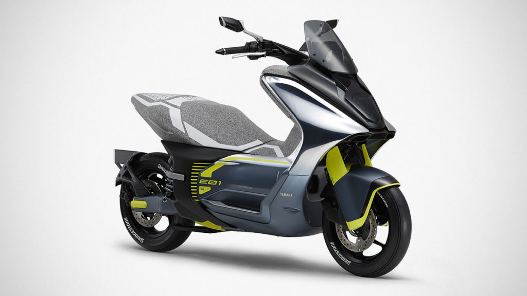 Yamaha E01 Electric-Scooter