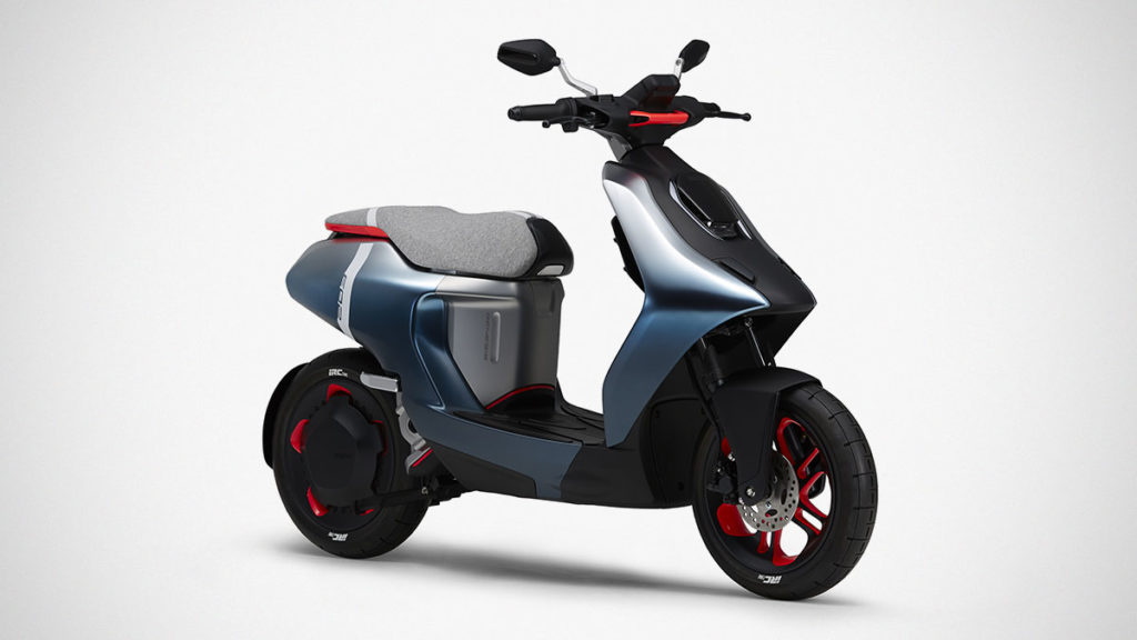 Yamaha E02 Electric-Scooter