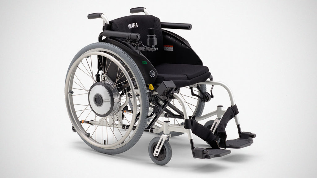 Yamaha JWX-1 PLUS+ Electric Wheelchair