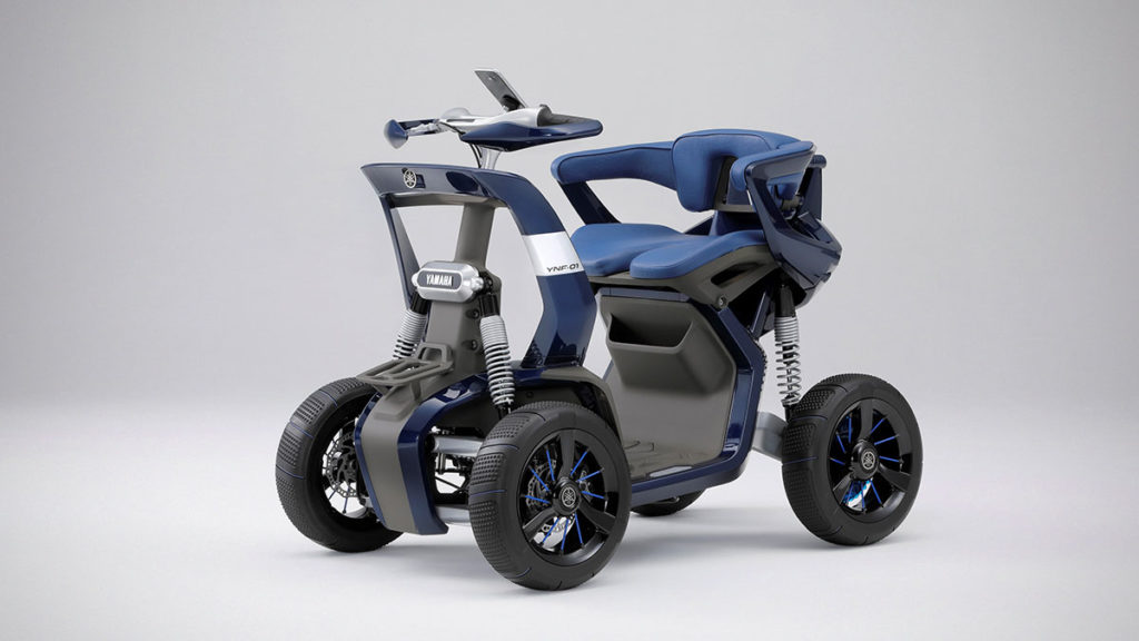 Yamaha YNF-01 Low-speed Mobility Concept