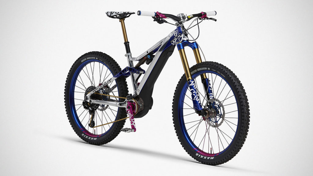 Yamaha YPJ-YZ Electrically Power-assisted Mountain-Bike