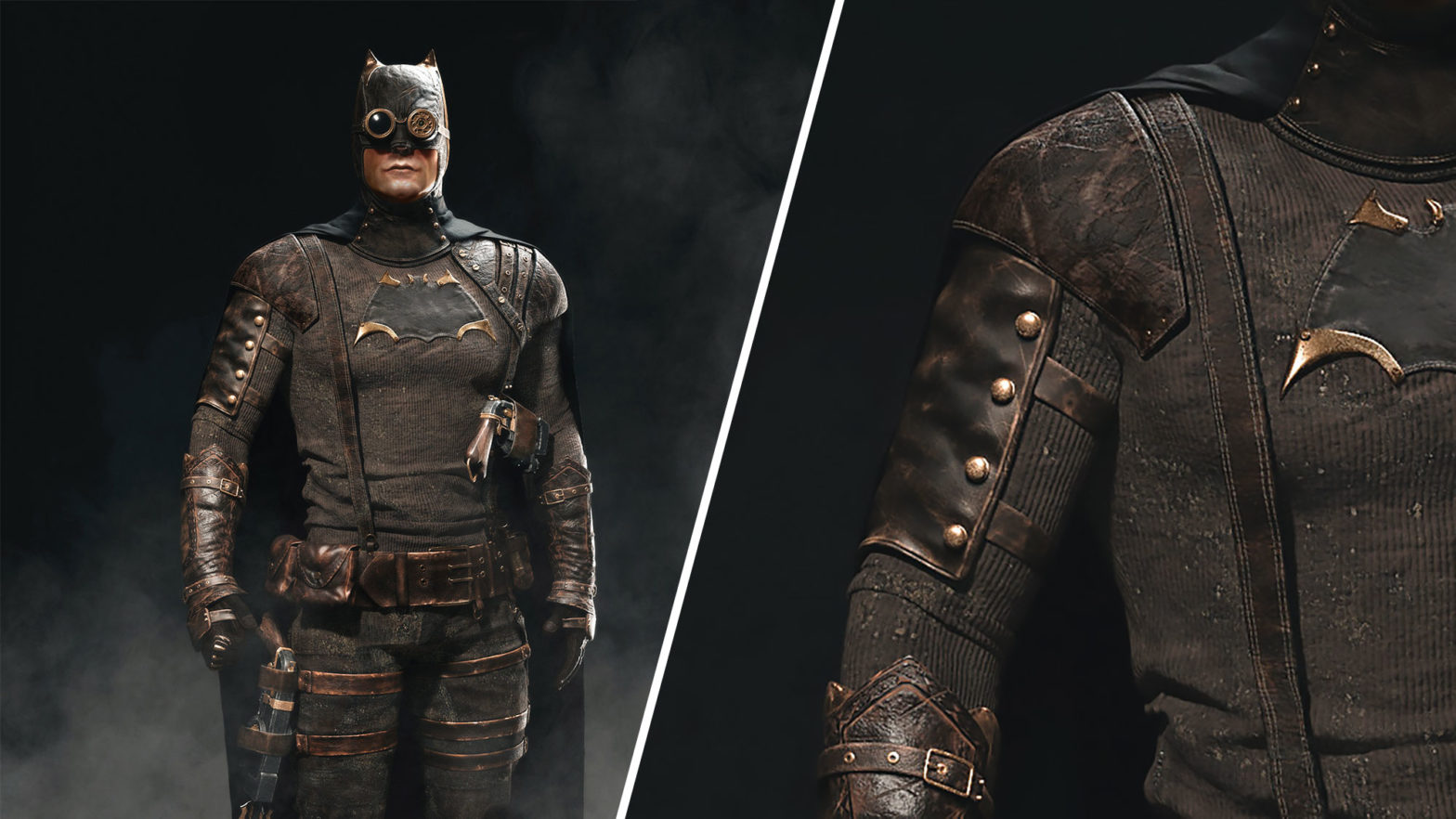 1887 Batman Steampunk Cape Crusader